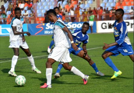 Enyimba's away win puts them in title mix