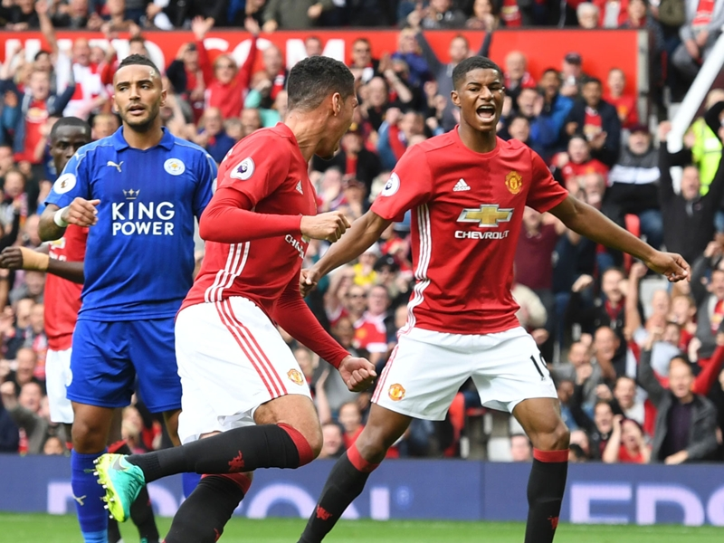 Manchester United - Leicester City (4-1), un choc à sens unique