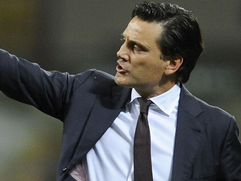 """AC Milan, Montella : """"Peu d'intérêt pour le classement"""""""