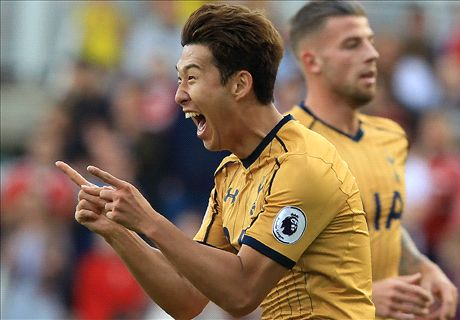 Son on target again as Spurs beat Boro