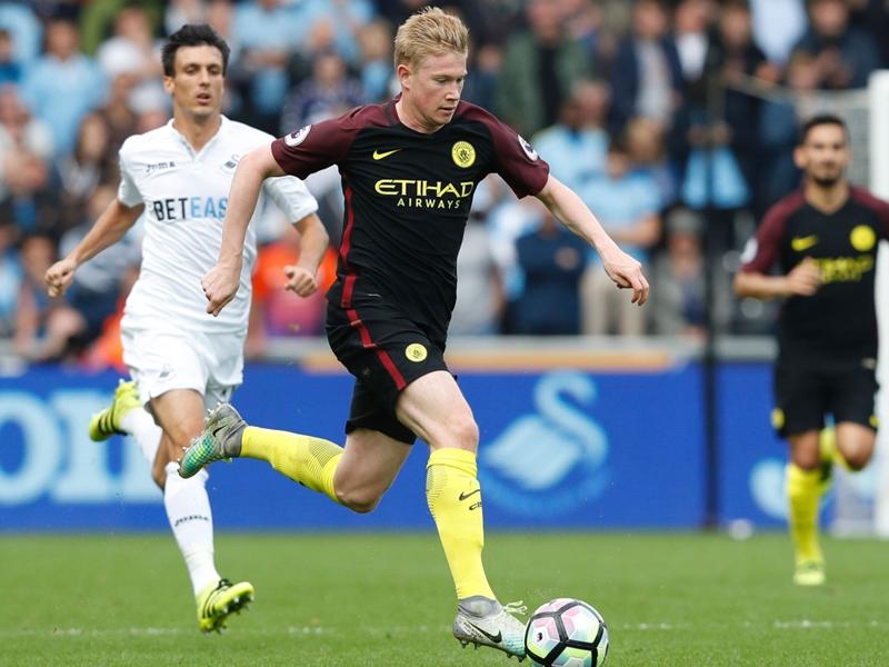 Manchester City, Guardiola craint une blessure de De Bruyne