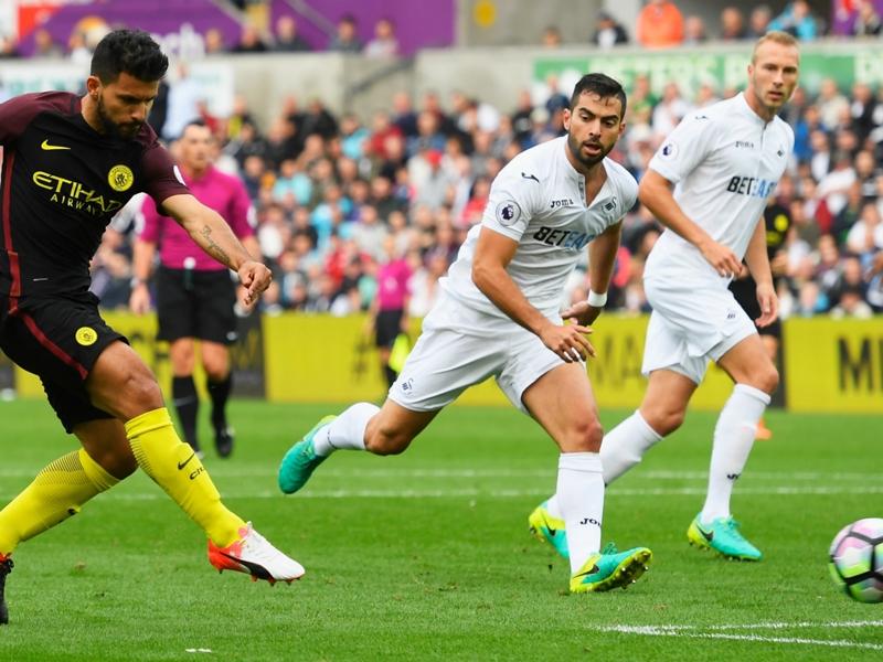 Swansea City-Manchester City (1-3), Man City toujours plus haut