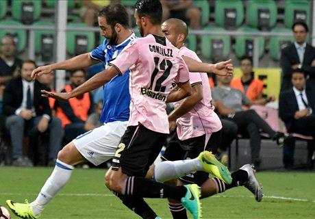 FT: Palermo 0-1 Juventus