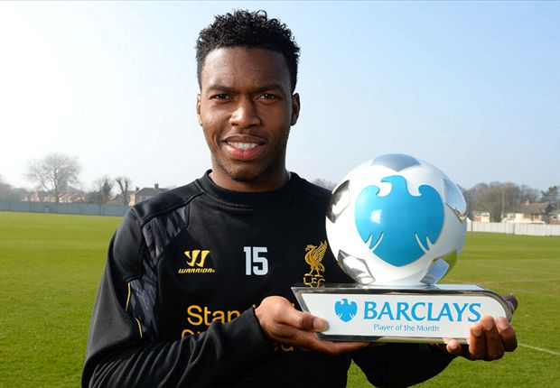 Sturridge & Allardyce named Barclays Player and Manager of the Month
