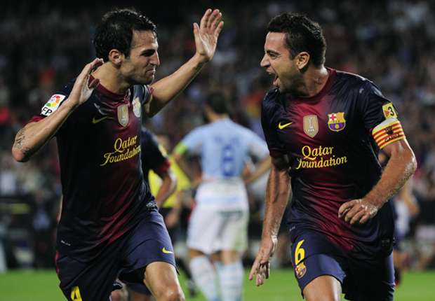 Fabregas: I will not replace unique Xavi