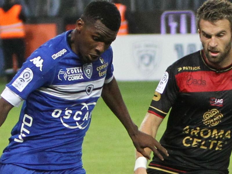 Bastia-Guingamp (1-0), les Corses l'emportent après un match insipide