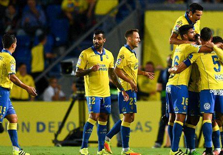 Las Palmas grabs late draw with Madrid