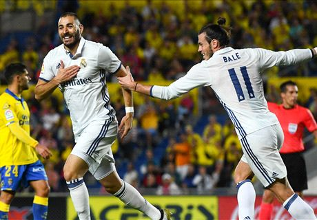 Real Madrid Ditahan Imbang Las Palmas