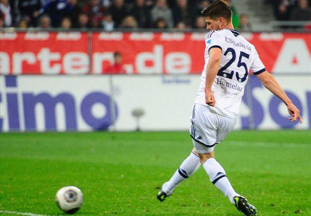 Schalkes Klaas-Jan Huntelaar war der Mann des Abends in Augsburg