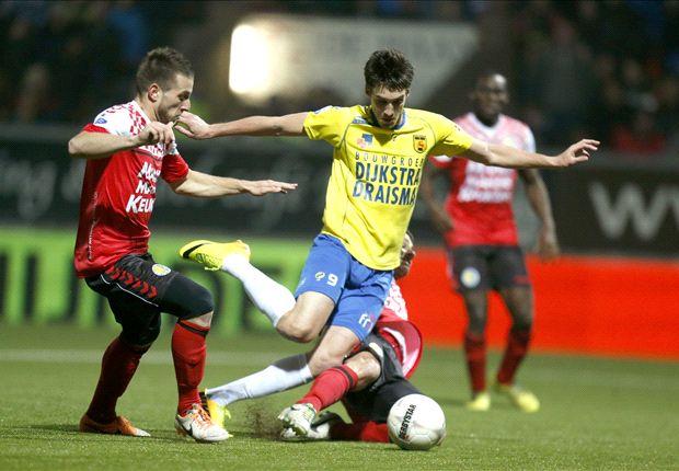 Martijn Barto maakte een treffer voor SC Cambuur