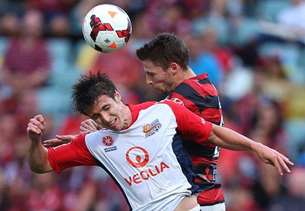 Western Sydney 0-0 Adelaide United: Wanderers fire a blank