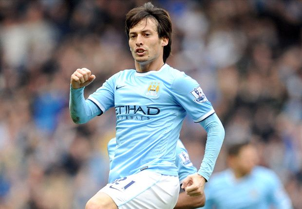 Manchester City handed David Silva fitness boost