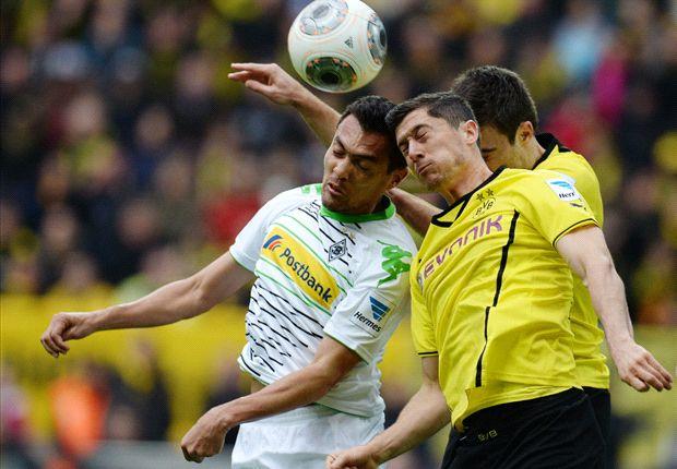 Borussia Dortmund 1-2 Borussia Monchengladbach: Kruse & Raffael punish profligate hosts
