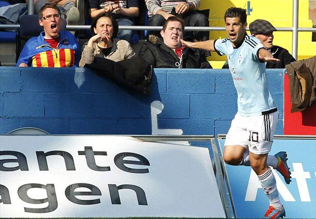 Levante 0-1 Celta de Vigo: El gol de Nolito sentencia un espectáculo brillante