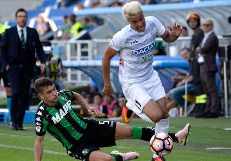 Sassuolo-Udinese LIVE! 1-0, Defrel