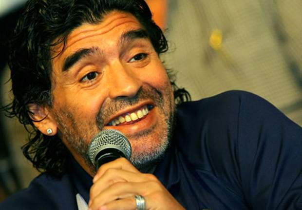 The Scots Love Me For My England Goals - Maradona