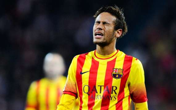 Neymar Athletic Bilbao Barcelona La Liga 12012013