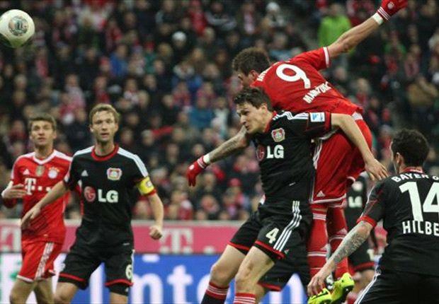 Mario Mandzukic opende de score voor Bayern München