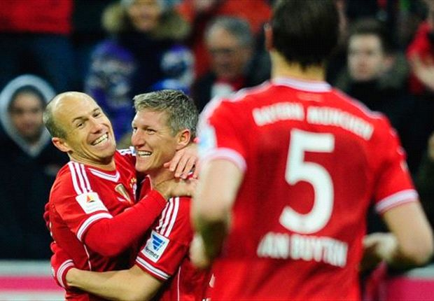 Bayern Munich 2-1 Bayer Leverkusen: Sublime Schweinsteiger tightens champions' grip on the title