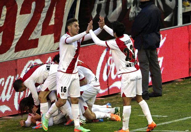 Rayo 3-0 Celta: Vallecas atisba la permanencia