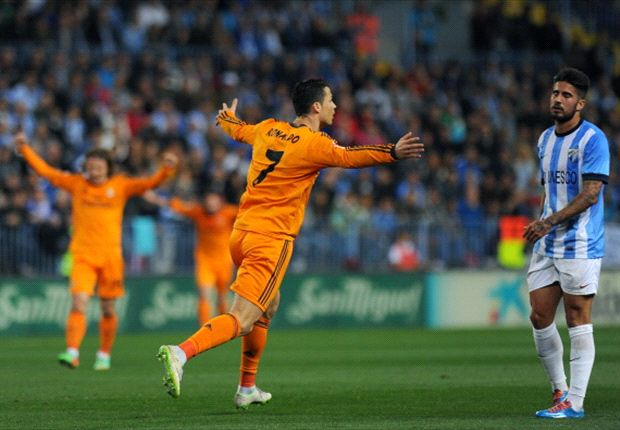 Malaga 0-1 Real Madrid: Ronaldo the hero as Liga leaders battle to vital victory