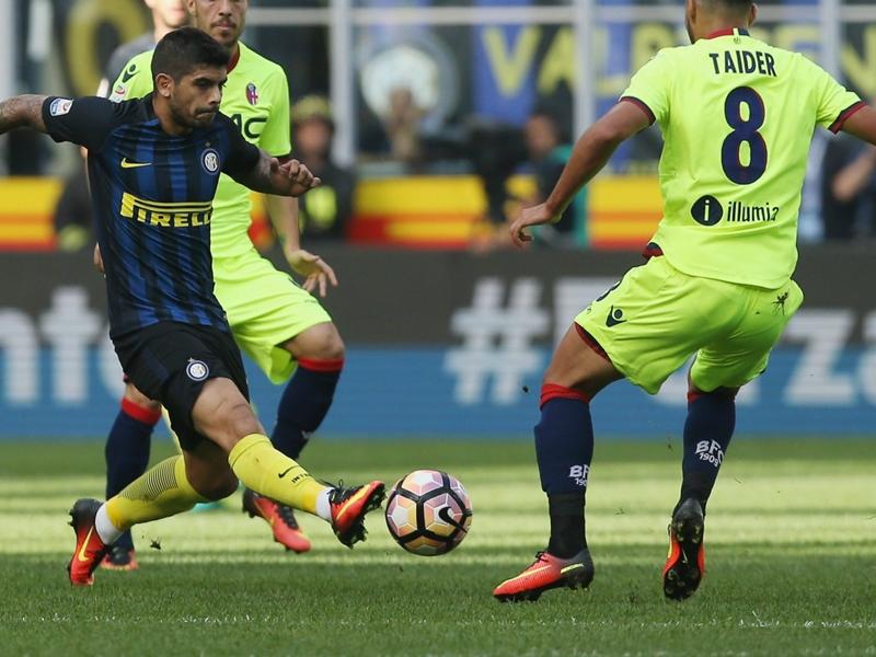 Inter Milan-Bologne (1-1), l'Inter gaspille
