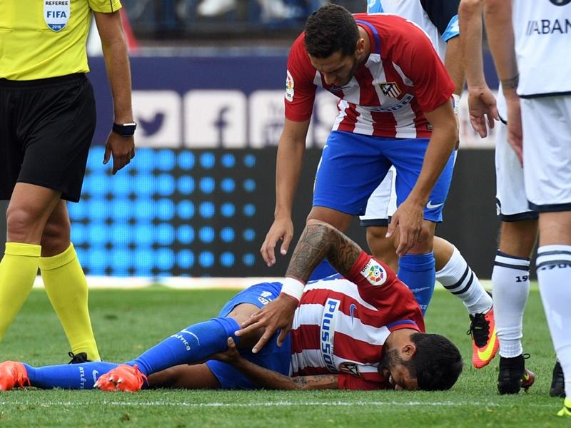 Atletico, rupture des ligaments croisés pour Augusto Fernandez