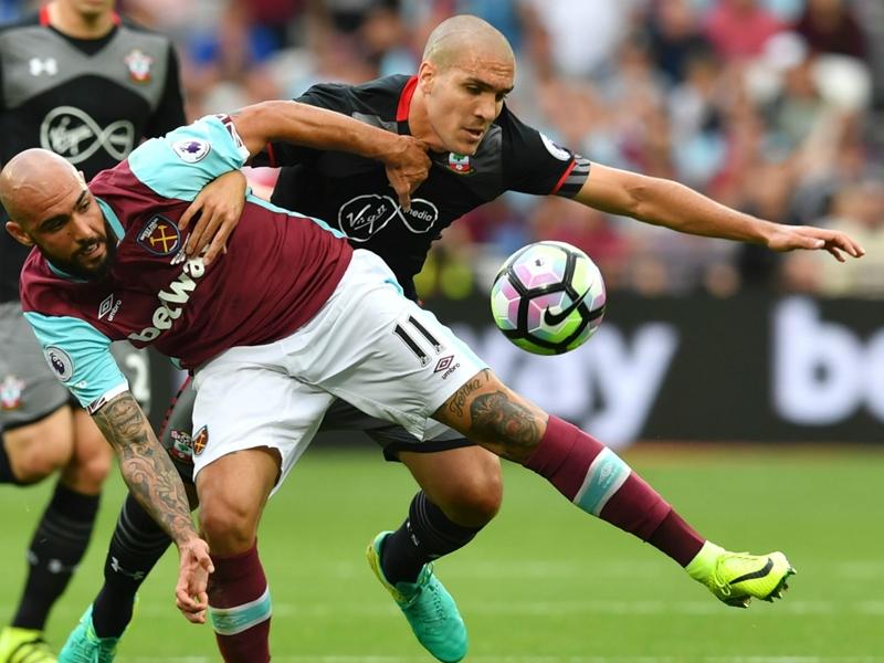 West-Ham-Southampton (0-3), West-Ham s'enlise
