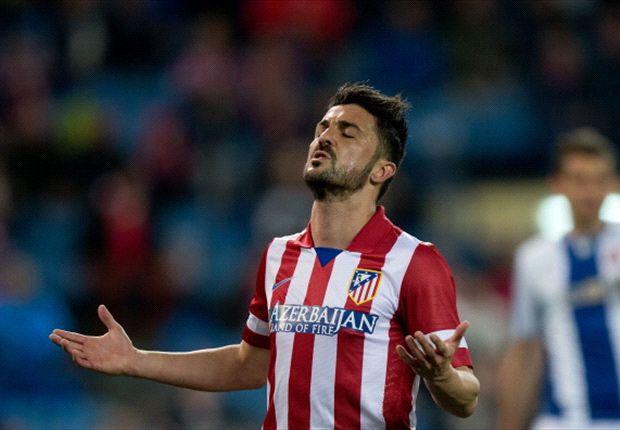 Villa con el Atlético