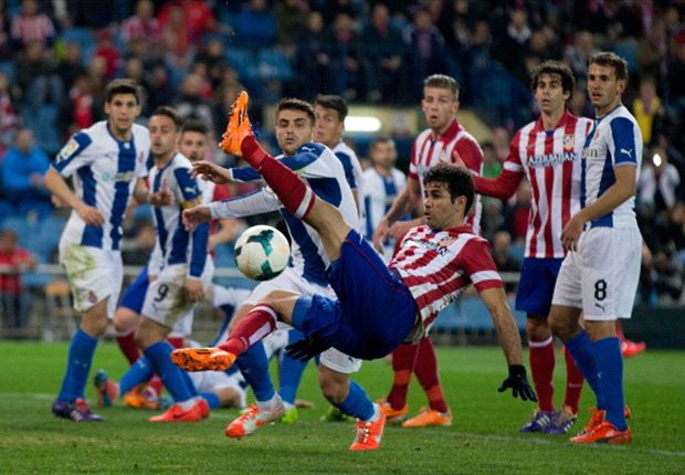 Atletico Madrid 1-0 Espanyol: Clinical Costa keeps Rojiblancos in title race