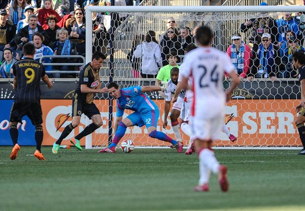 Philadelphia Union 1-0 New England Revolution: Le Toux grabs winner for Philly