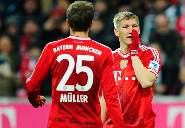 Schweinsteiger compares himself to Giggs & Totti