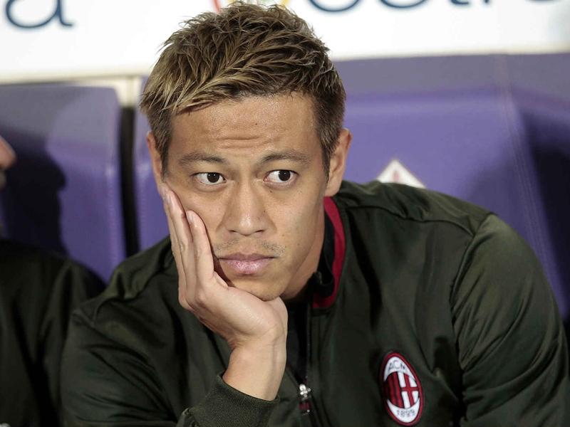 Honda bacchetta i tifosi del Milan: Sbagliano a fischiarci