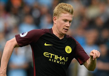De Bruyne doubtful for Barca & Man Utd