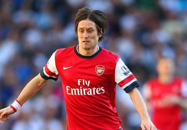 Tottenham 0-1 Arsenal: Un rápido gol de Tomas Rosicky decide el derbi de Londres