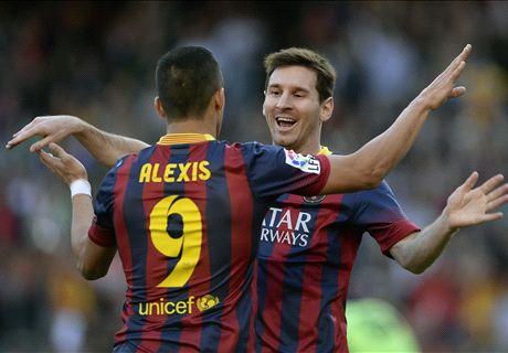 El respaldo de Alexis para Messi