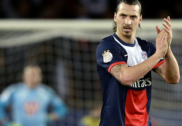 Paris Saint-Germain 2-0 Saint-Etienne: Ibra at the double for Laurent Blanc's men