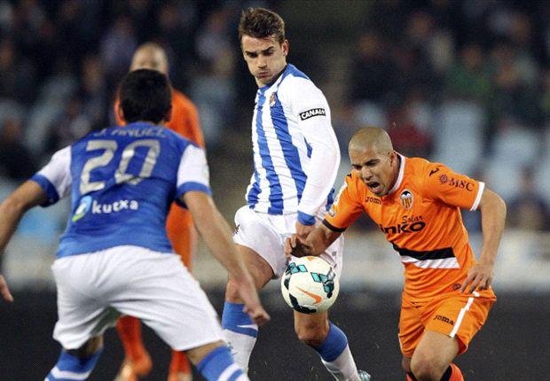 Real Sociedad 1-0 Valencia: Imanol Agirretxe despierta a la Real Sociedad