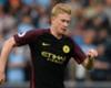 De Bruyne returns to Man City training