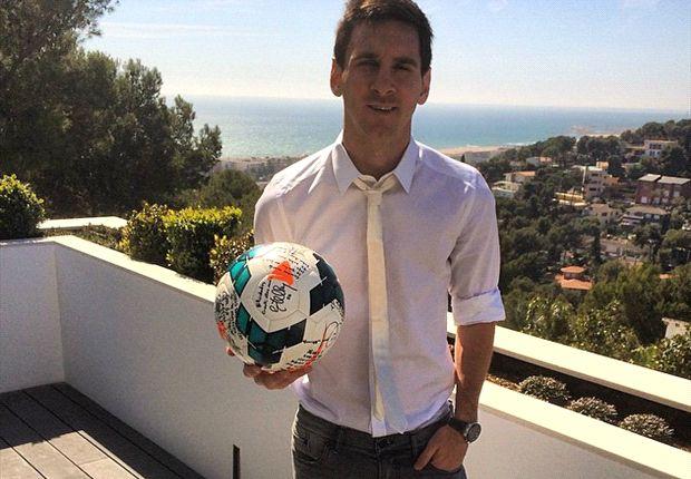 Messi ya tiene casa en Italia