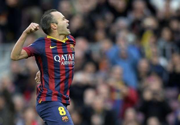 Andres Iniesta ist ein wichtiger Bestandteil des Barca-Trios