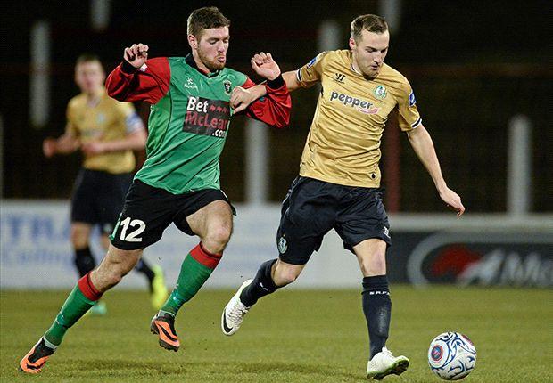 Glentoran 0-0 Shamrock Rovers: Hoops advance to Setanta Cup semi-final