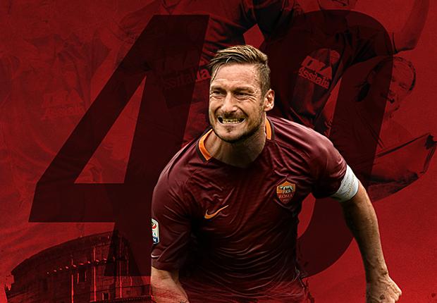 #Totti40, da Bolt a Messi: tanti auguri per il capitano della Roma
