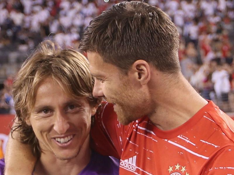 """Bayern Munich, Xabi Alonso : """"J'ai un faible pour Luka Modric"""""""