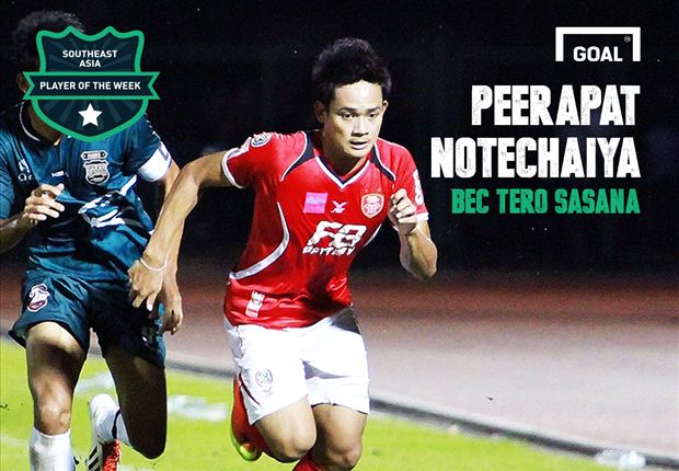 Southeast Asia Player of the Week: Peerapat Notechaiya