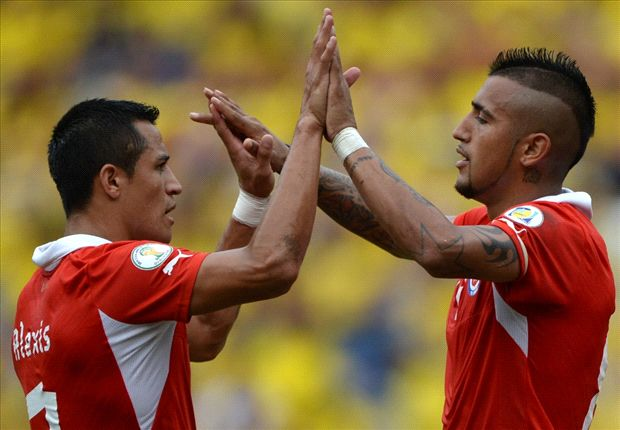 Vidal: I'd love to play with Alexis Sanchez