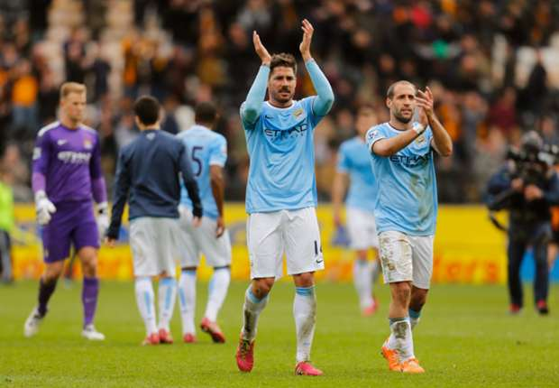 Javi Garcia ready to shine at Manchester City