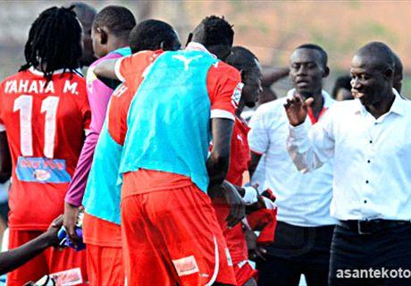 Asante Kotoko wallop Celtic 14-0
