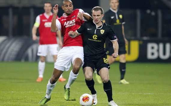 UEFA Europa League opponents AZ and Anzhi