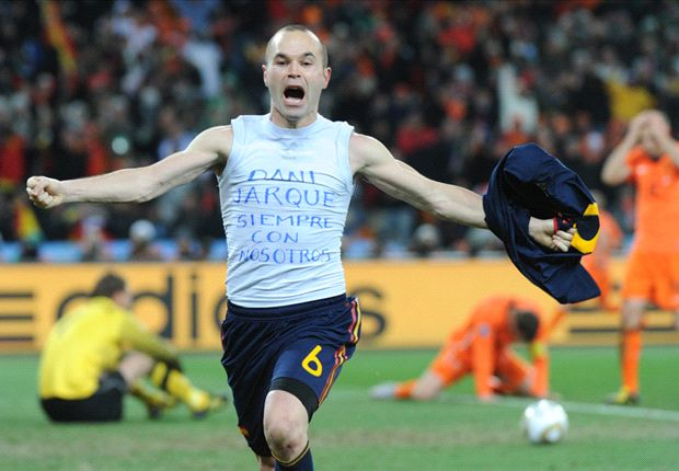 Your favourite World Cup moments: Iniesta makes history for Spain